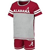 Colosseum Athletics Toddler Boys' University of Alabama Halifax Shirt and Shorts Set