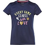 BCG Girls' Tennis Love Turbo Graphic T-shirt