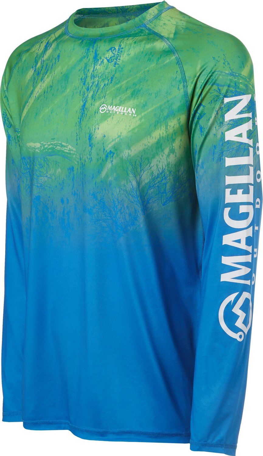 0cf5f39549074e Display product reviews for Magellan Outdoors Men s Realtree Fish Ombre  Long Sleeve T-shirt