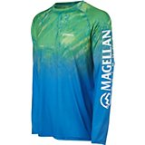 Magellan Outdoors Men's Realtree Fish Ombre Long Sleeve T-shirt