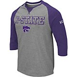 bcfab14be Colosseum Athletics Men's Kansas State University Soledad 3/4 Sleeve T-shirt