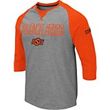 d9f325a2c Colosseum Athletics Men s Oklahoma State University Soledad 3 4 Length  Sleeve T-shirt