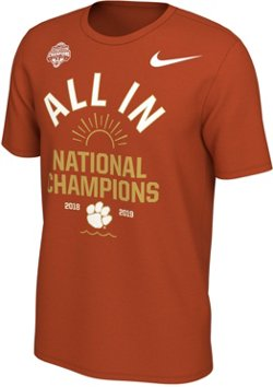 Nike Men's Clemson University 2018 National Champions Team Arch T-shirt