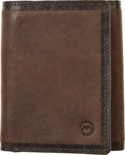 Magellan Outdoors Men's Line Burn Trifold Wallet