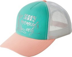 Girls' Swim Print Trucker Hat