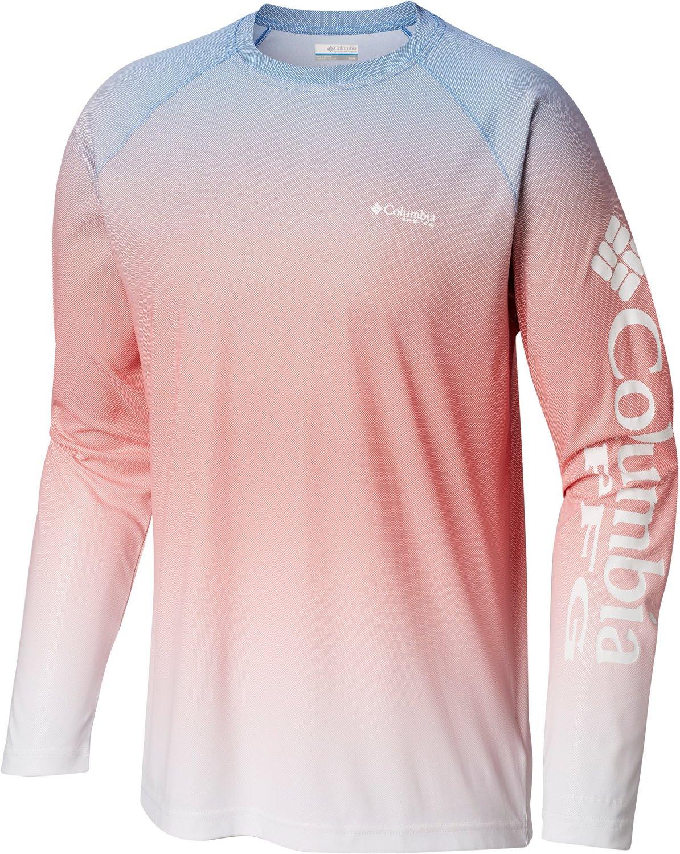 699ef96b Columbia Sportswear Men's PFG Terminal Deflector Printed Long Sleeve T-shirt  | Academy