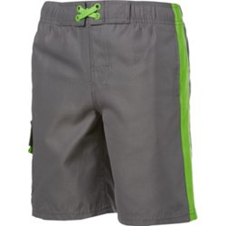 Boys' Side Taped Cargo Boardshort
