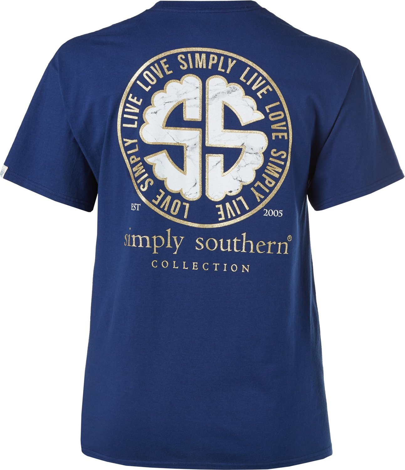 89c268add217c Display product reviews for Simply Southern Women's Logo Live Love Simply T- shirt
