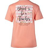 Simply Southern Women's Blessed Graphic T-shirt