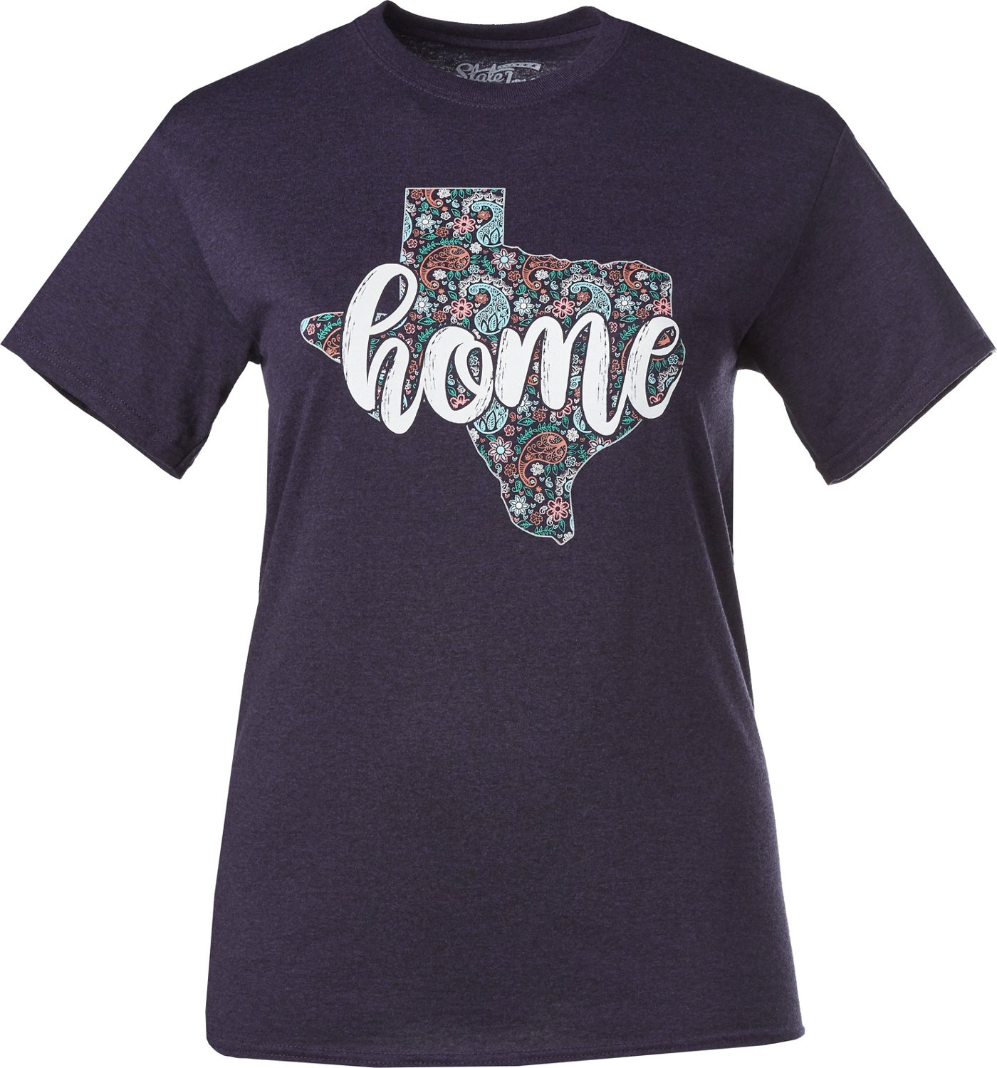 926fcbaa State Love Women's Texas Home State T-shirt