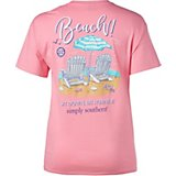 Simply Southern Women's Beach Graphic T-shirt