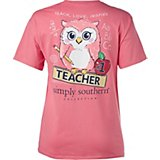 Simply Southern Women's Teacher Graphic T-shirt