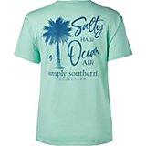 Simply Southern Women's Salty Graphic T-shirt