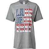 Americana Women's Land of the Free Graphic T-shirt