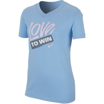 c7339e2a Nike Girls' Love to Win V-neck T-shirt | Academy