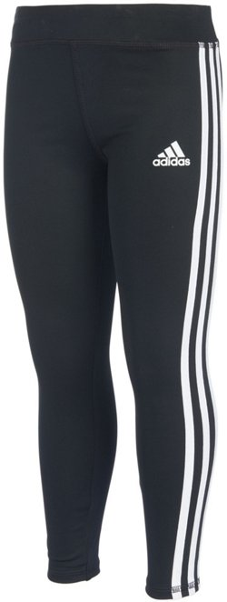 adidas Toddler Girls' climalite Long Tights