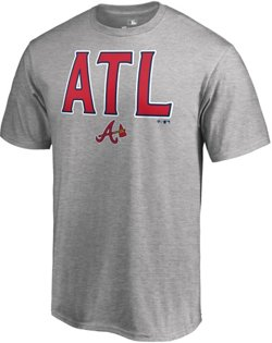 Atlanta Braves Men's Hometown Collection ATL Long Sleeve T-shirt