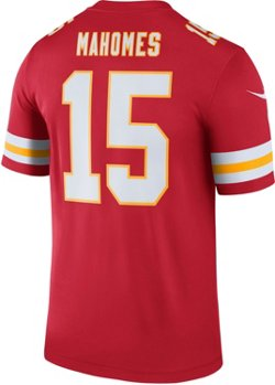 Nike Men's Kansas City Chiefs Patrick Mahomes II 15 Legend Jersey