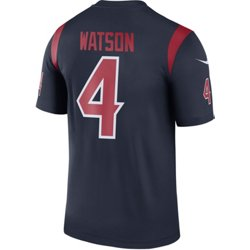 Men's Houston Texans Deshaun Watson 4 Color Rush Legend Jersey