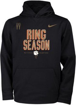 Nike Men's Clemson University 2018 National Champions Locker Room Hoodie