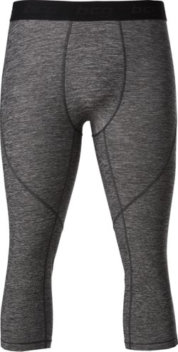 Men's Athletic Melange Capri Leggings