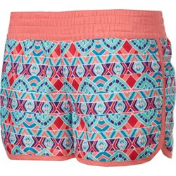 Girls' Printed Board Shorts
