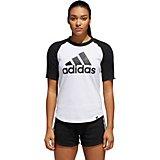 wholesale dealer dfa28 e509f adidas Womens BOS Baseball T-shirt