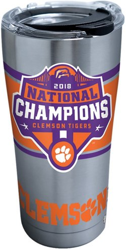 Tervis Clemson University 2018 National Champions 20 oz Stainless Steel Tumbler