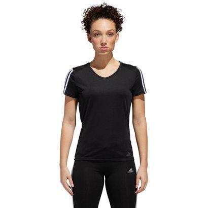 ... adidas Women s Run 3-Stripes T-shirt. Women s Shirts   Tops.  Hover Click to enlarge 9b861fb5358d