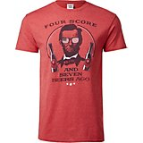 Americana Men's Four Score and Seven Beers Ago Graphic T-shirt