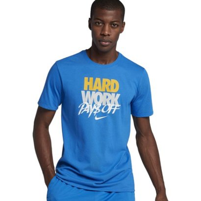 132488a406d1dd Nike Men s Dri-FIT Hard Work Basketball T-shirt