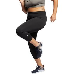 Women's One Plus Size Cropped Training Tights