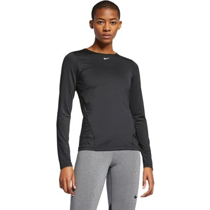 f4b9b726aa ... Nike Women s Pro All Over Mesh Long Sleeve T-shirt. Women s Shirts    Tops. Hover Click to enlarge