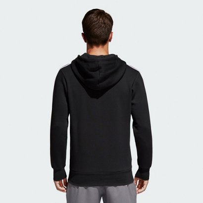 c98117bc7 adidas Men s Essentials 3-Stripes Brushed Fleece Hoodie