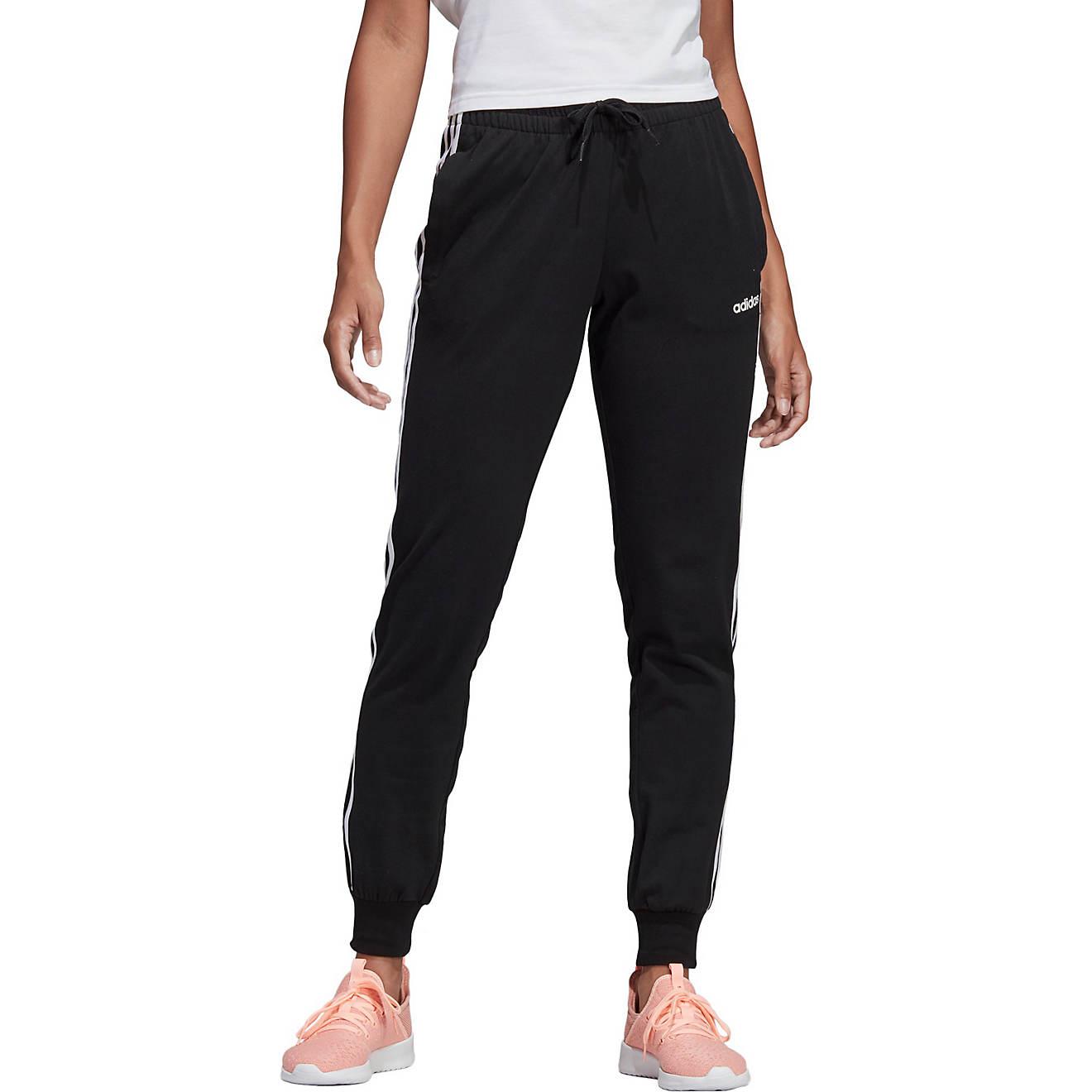 adidas Women's 3-Stripes Single Jersey Pants | Academy