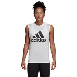 adidas Women's Must Haves Badge of Sport Graphic Tank Top