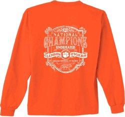 Women's Clemson University 2018 National Champs Tradition Long Sleeve T-shirt