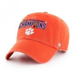 '47 Clemson University Tigers 2018 National Champions Clean Up Cap