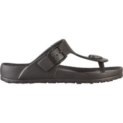 Women's Buckle Thong Sandals