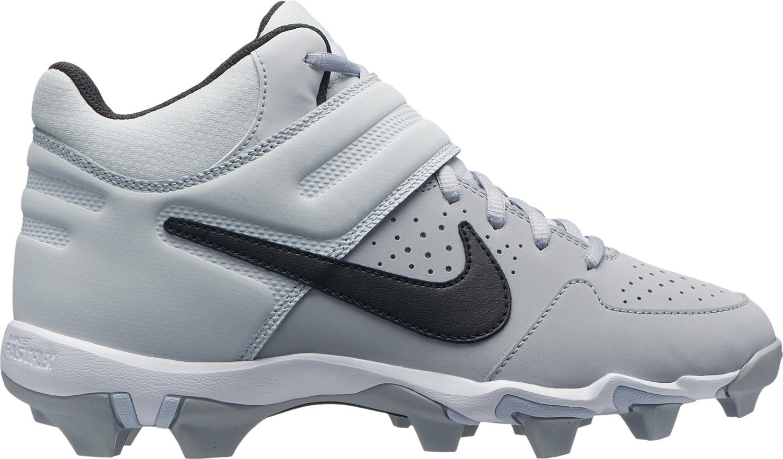 0734dccf7027 Nike Boys  Alpha Huarache Varsity Keystone Mid Baseball Cleats