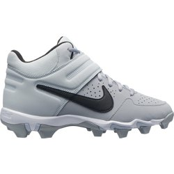 Kids' Alpha Huarache Varsity Keystone Mid Baseball Cleats