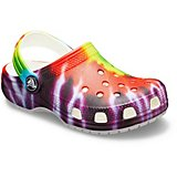 Crocs Kids' Classic Tie-Dye Graphic Clogs