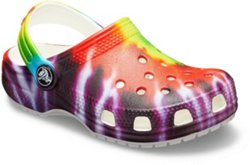 Girls' Classic Tie-Dye Graphic Clogs
