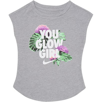 new products 08059 e0ccc ... Nike Toddler Girls  You Glow Girl Short Sleeve T-shirt. Toddler Shirts.  Hover Click to enlarge