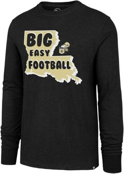 New Orleans Saints Club Big Easy Football Long Sleeve T-shirt