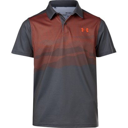 254df2a66 ... Under Armour Boys' Vanish Engineered Golf Polo Shirt. Boys' Shirts.  Hover/Click to enlarge