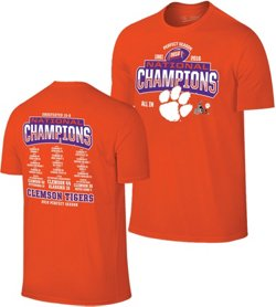 Wildcat Retro Men's Clemson University 2018 National Champions Perfect Season T-shirt