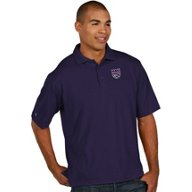 Antigua Men's Sacramento Kings Pique Xtra Lite Polo Shirt