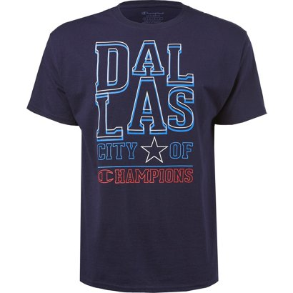 17ae4109 ... Champion Men's Dallas City of Champions T-shirt. Men's Shirts.  Hover/Click to enlarge