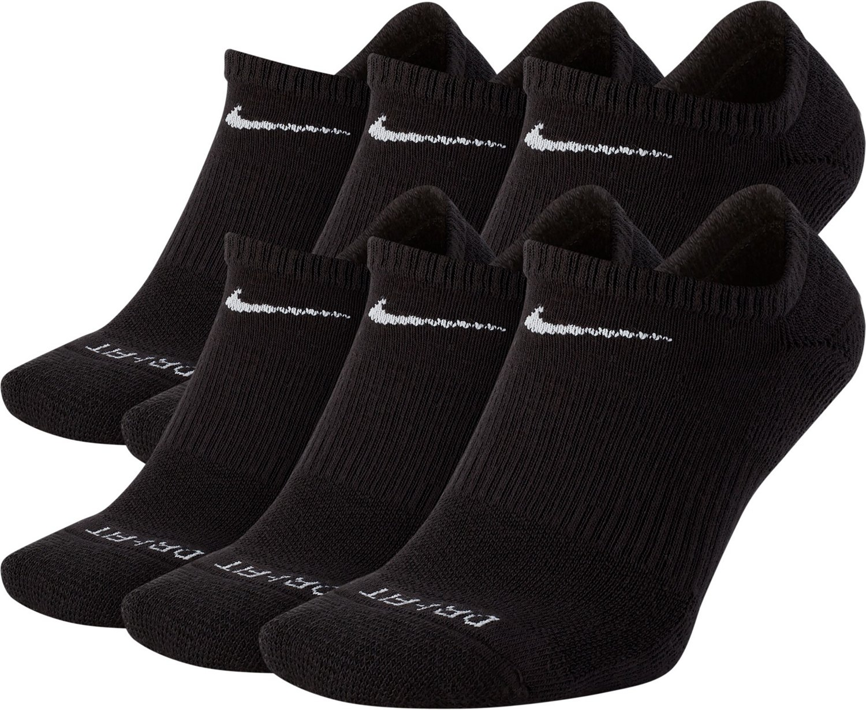 big sale 23cfd 06295 Nike Men s Everyday Plus Cushion Training No Show Socks 6 Pack   Academy